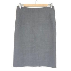 Theory Golda Tailor Grey Pencil Skirt NO Size Tag